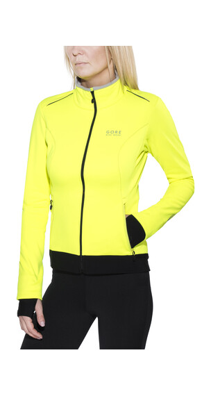 GORE BIKE WEAR Element WS SO Jacket Lady neon yellow/black